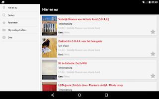 Screenshot of UiTagenda
