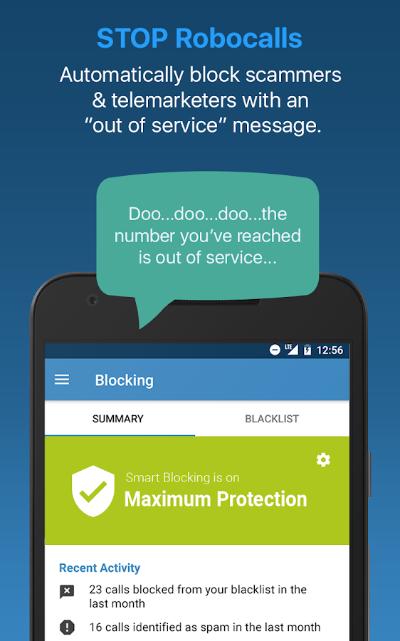YouMail Voicemail & Call Blocker- screenshot