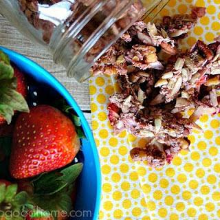 Strawberry Granola