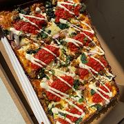 Small Mediterranean Pizza