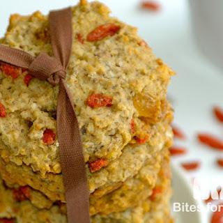 Oatmeal Goji Berry Cookies.