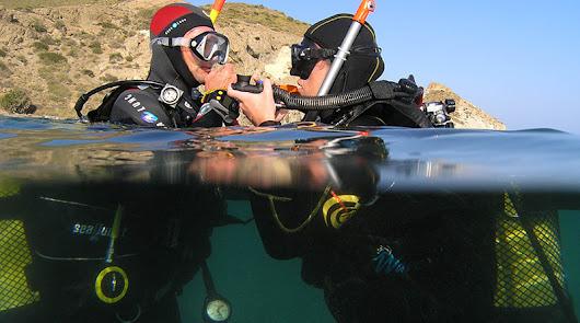 El PMD enseña los fondos marinos de Cabo de Gata.