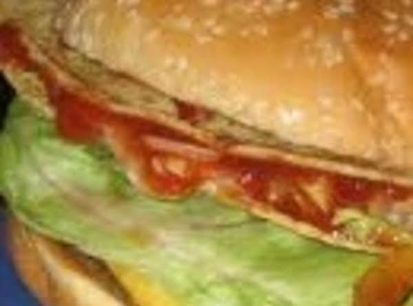 Crispy Taco Burger