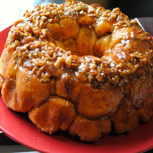 Walnut Maple Monkey Bread Recipe