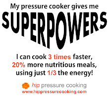 Photo: Check out our very first logo-wear. It's a perfect gift for the cook who already has everything and great way to support your favorite website: http://www.hippressurecooking.com/the-cook-that-has-everything-doesnt-have-this/