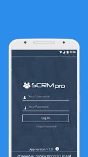 SCRMpro - náhled