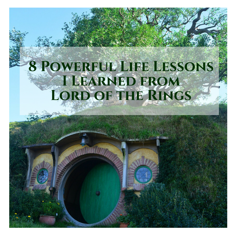 Life Lessons I Learned from Lord of the Rings
