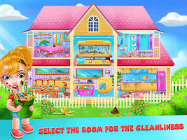 Keep Your House Clean - Girls Home Cleanup Game