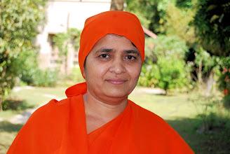 Photo: Swamini Tanmayanand Saraswatiji