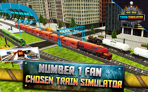 Real Euro Train Simulator - Best 3D Driving Game 1.04 screenshots 5