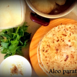 Aloo Paratha (Potato stuffed tortilla)