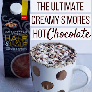 Creamy S'mores Hot Chocolate.