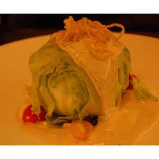 Iceberg Lettuce-Wedge Salad.