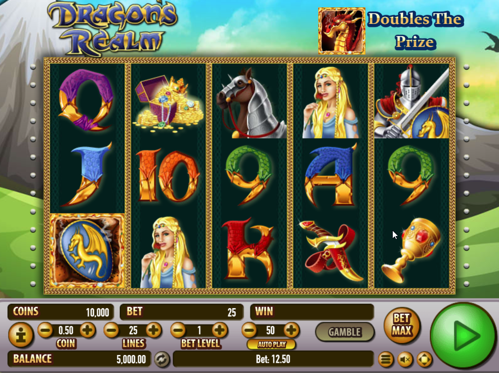 Dragon's Realm Slots Game Review