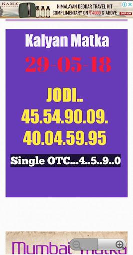 Fix Matka Kalyan & Main - August Statistics on Google Play Store | Mobbo