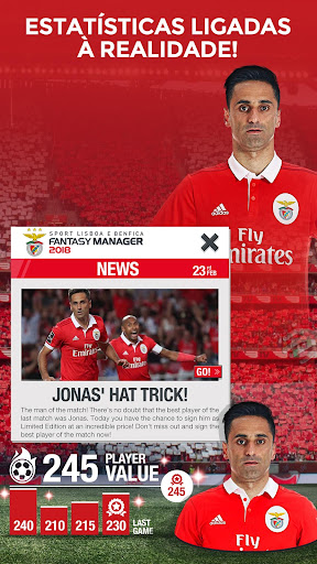 SL Benfica Fantasy Manager '18  screenshots 4