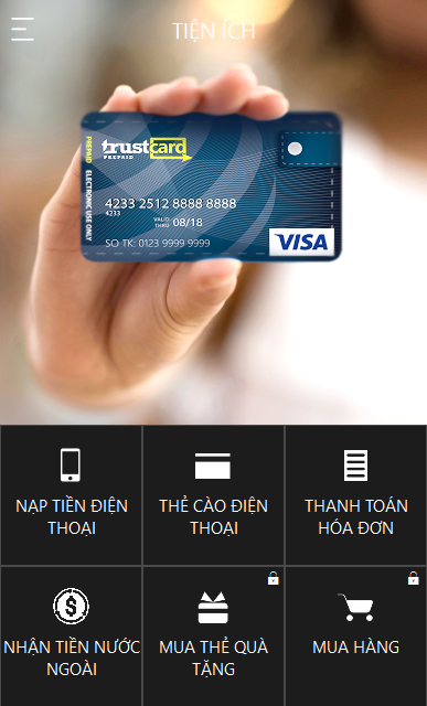 TRUSTcard- screenshot