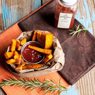 Sweet Potato Fries with Haute Sauce