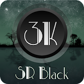 3K SR BLACK - Icon Pack