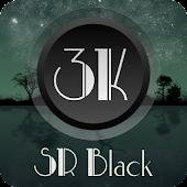 3K SR BLACK - Icon Pack