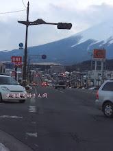 Photo: 東日本大震災による停電でも消えなかった信号機