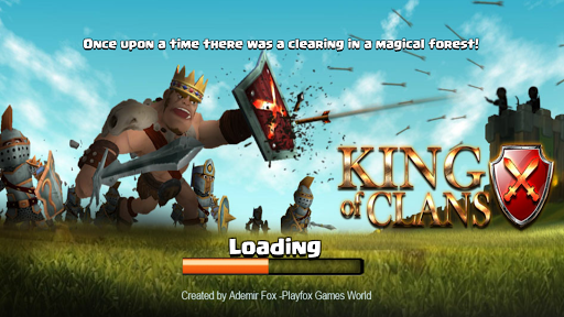 King of Clans  captures d'u00e9cran 1