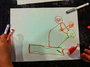 Photo: Clark's Pod Racer Drawing