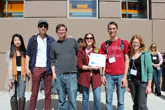 Photo: wattTime hackers with their $500 prize for best use of Green Button data