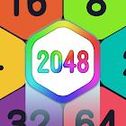 2048 Hexagon Puzzle
