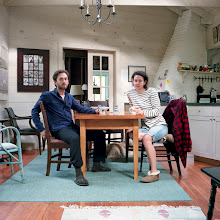 Photo: title: Emily Rothschild & Jon Retseck, Small Point, Maine date: 2010 relationship: friends, art, met through Moira Greenspun Tarmy years known: 0-5