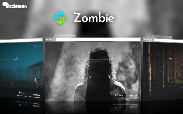 Zombie Backgrounds & New Tab
