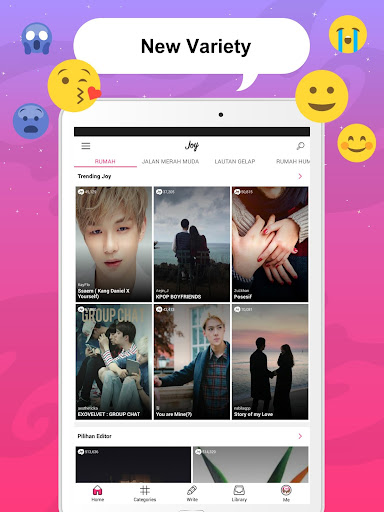 Joylada - Read All Kind of Chat Stories  Wallpaper 10