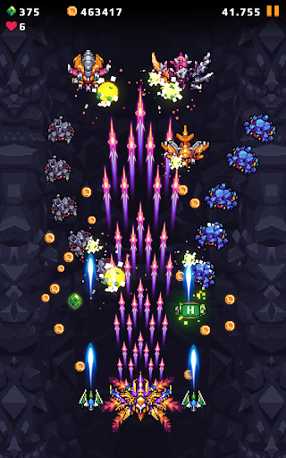 Galaxy Shooter : Falcon Squad Premium Varies with device screenshots 1
