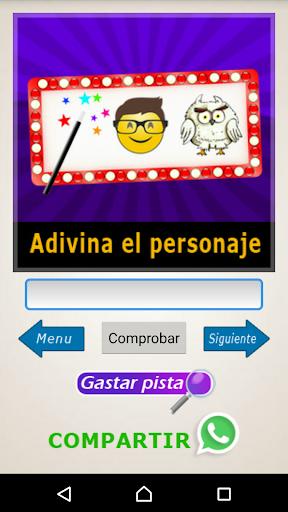 Adivina el Personaje - Siluetas, Emojis, Acertijos screenshot 3
