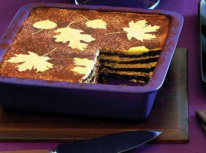 No-cook Pumpkin Chocolate Icebox Cake Recipe