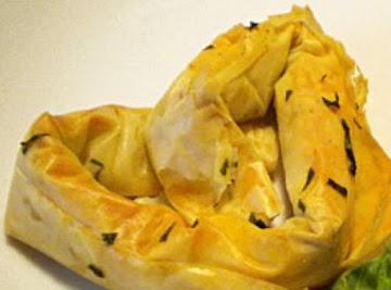 Parmesan Prosciutto Phyllo Pretzels Recipe