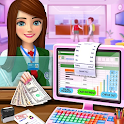 High School Cash Register: Cashier Games For Girls icon