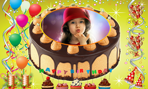 Download Name Photo on Birthday Cake – Love Frames Editor on PC ...