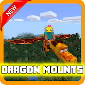 Dragon Mounts Mod for MCPE