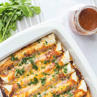 Cheese Enchiladas.