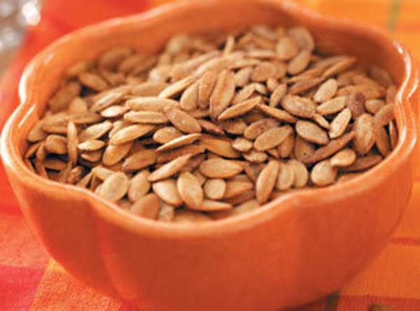 Garlic Pumpkin Seeds Recipe