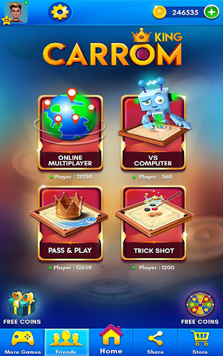 Carrom Kingu2122 - Best Online Carrom Board Pool Game 2.9.0.51 screenshots 9