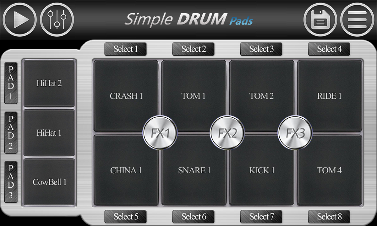 Simple Drum Pads- screenshot
