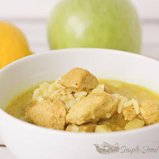 One Pot Coconut Curry Chicken Stew