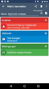 MacroDroid - Automatisierung Screenshot