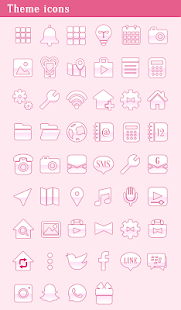 Beautiful Wallpaper Pastel Pink Cosmos Theme - náhled