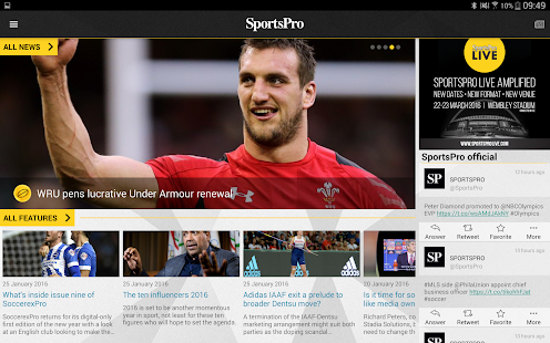 SportsPro- screenshot thumbnail