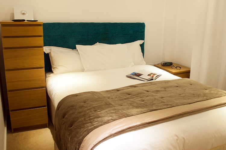 Luxury bedroom at Steward Street, Bishopsgate
