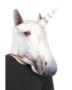 Mask, Vit enhörning