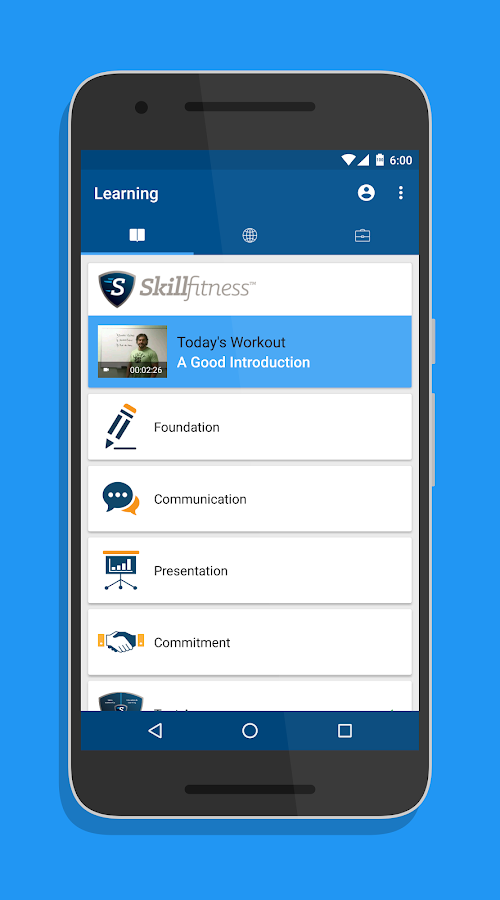 SkillFitness®- screenshot